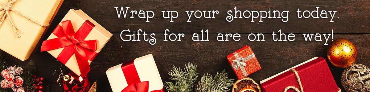 Wrap up all your holiday shopping in one click - fresh flowers, bouquets, centerpieces, poinsettias and more.  We have  gifts for everyone on your list, delivered today with a smile!