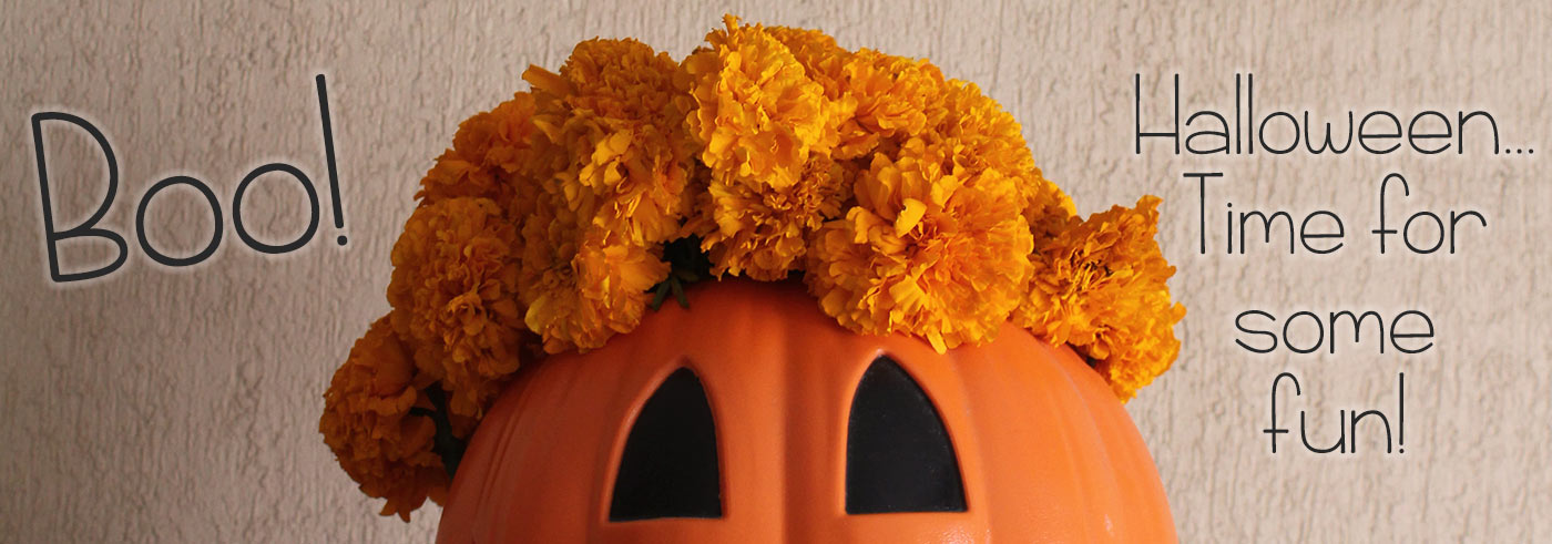 Boo! Halloween is Sunday, October 31st. Have some fun with a spooktacular bouquet!