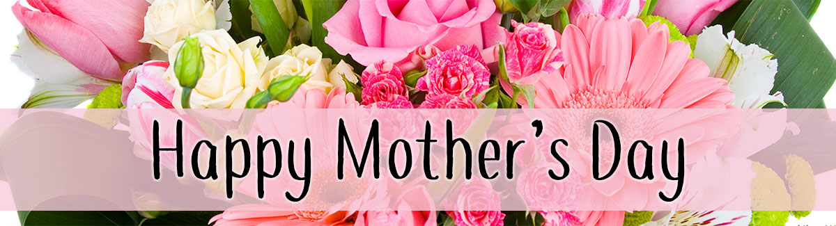 Mother's Day is Sunday, May 14th! Celebrate her day with a bouquet of fresh spring flowers!