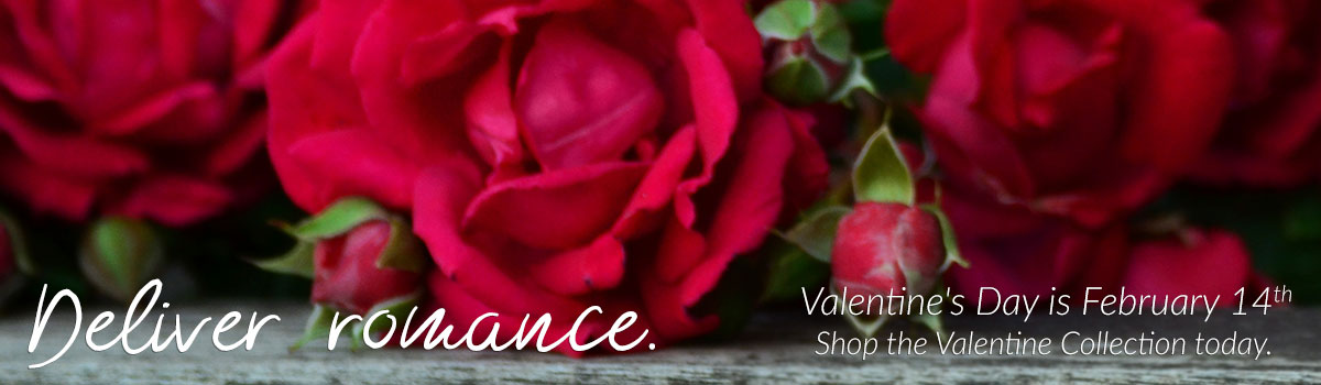 Deliver romance. Send flowers today! Valentine's Day is Thursday, February 14th.