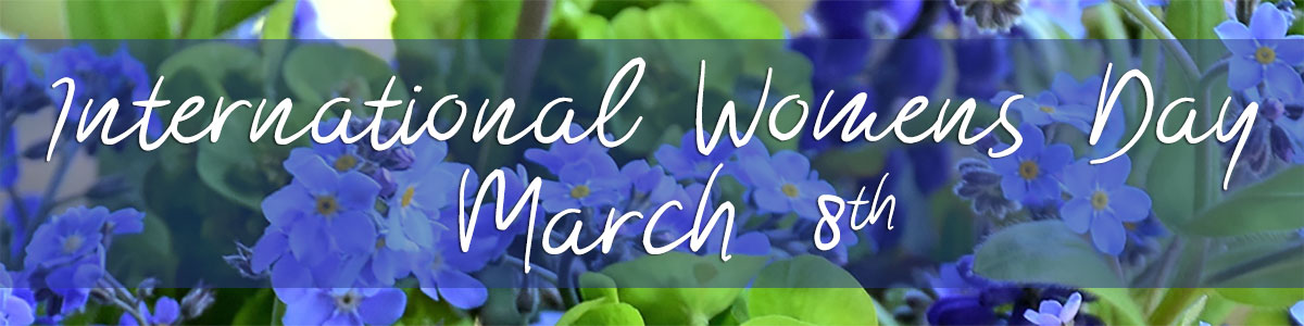 International Women's Day is March 8th.  Let her know she's appreciated!  Order your spring flowers for delivery today!