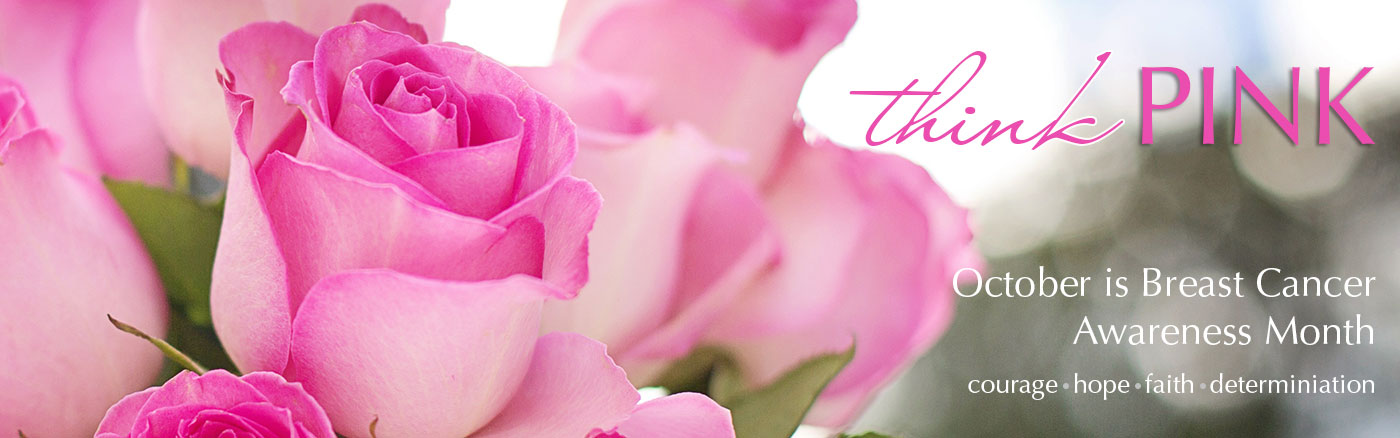 October is Breast Cancer Awareness Month.  Send a bouquet of pink blooms to celebrate a survivor or to remember a loved one.