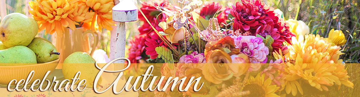 Celebrate Autumn with gorgeous fall flowers - send fresh flowers to someone special today!