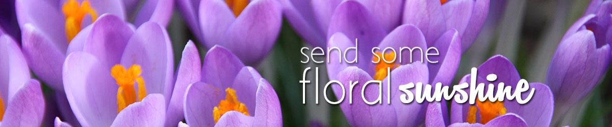Send some floral sunshine to brighten up their day