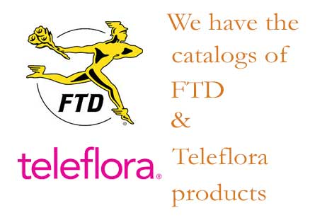 We carry tyhe full line of FTD and Teleflora products for use on your florist website.