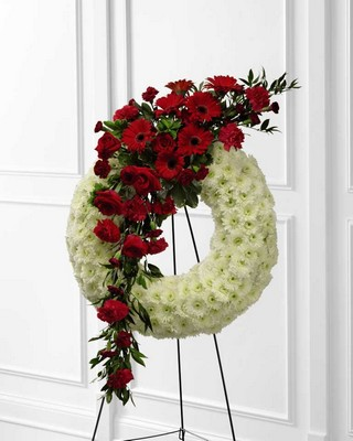The FTD Graceful Tribute(tm) Wreath