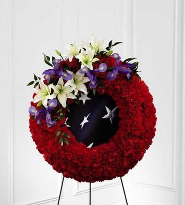 The FTD To Honor One's Country(tm) Wreath