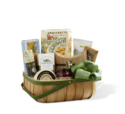 The FTD Heartfelt Sympathies(tm) Gourmet Basket