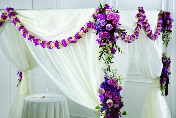 The FTD Color & Light Chuppah Décor