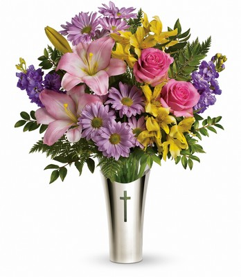 Teleflora's Silver Cross Bouquet