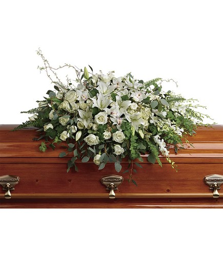 Grandest Glory Casket Spray