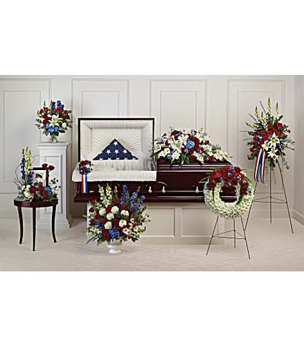 Teleflora's Distinguished Service Collection