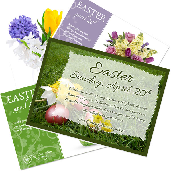 Florist Email Campaigns are availabe at no charge to all Media99 Clients.